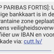 SMS bankfraude